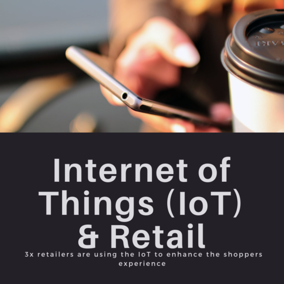 internet of things, retail
